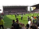 From the Lower Bridgford End